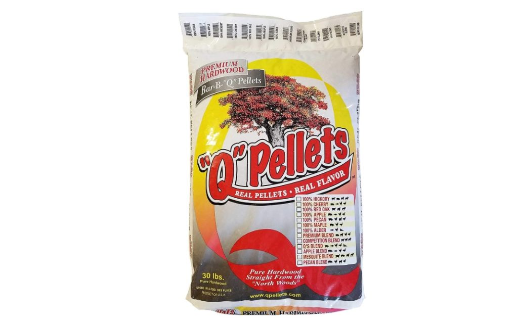 """Q"" Pellets Premium Hardwood BBQ Smoker Pellets"