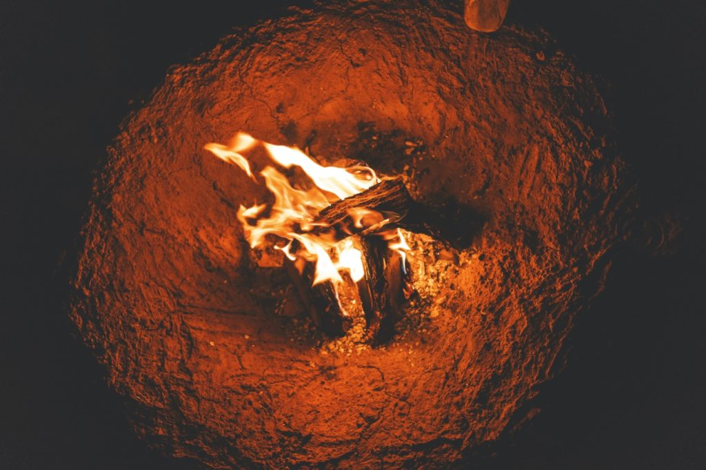how to make fire hotter