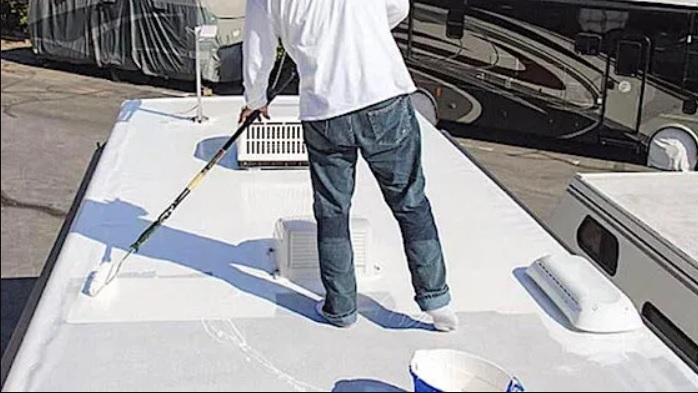 fixing a leaking camper roof