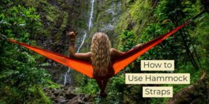 how to make tree straps for hammock