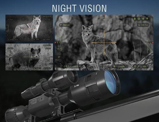best night vision scope under 1000