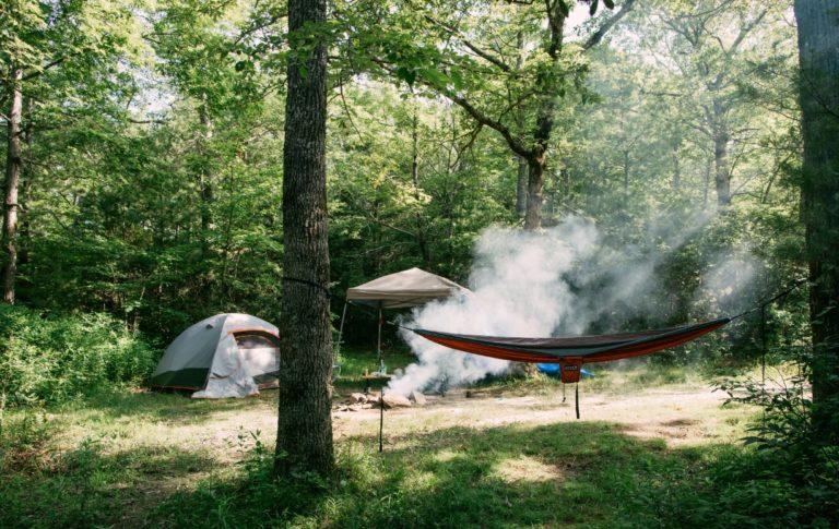 clean a tent