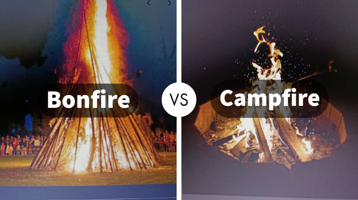 campfire vs bonfire