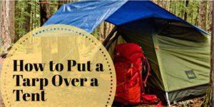 how to put a tarp