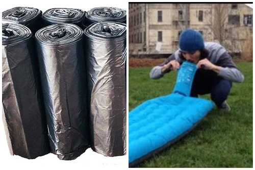 Inflate an Air Mattress without a Pump or Electricity