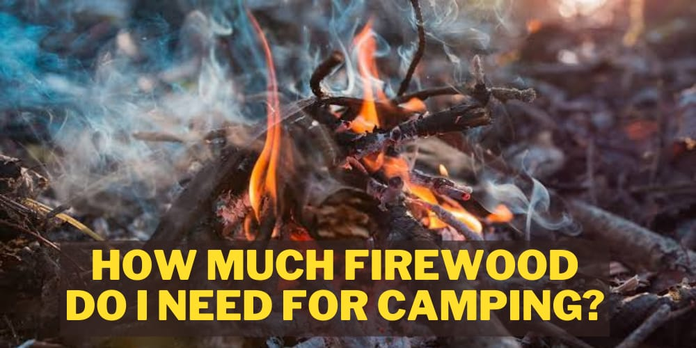 How Much Firewood Do I Need For Camping