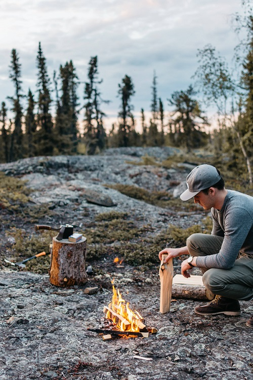 How to Find Firewood for Camping